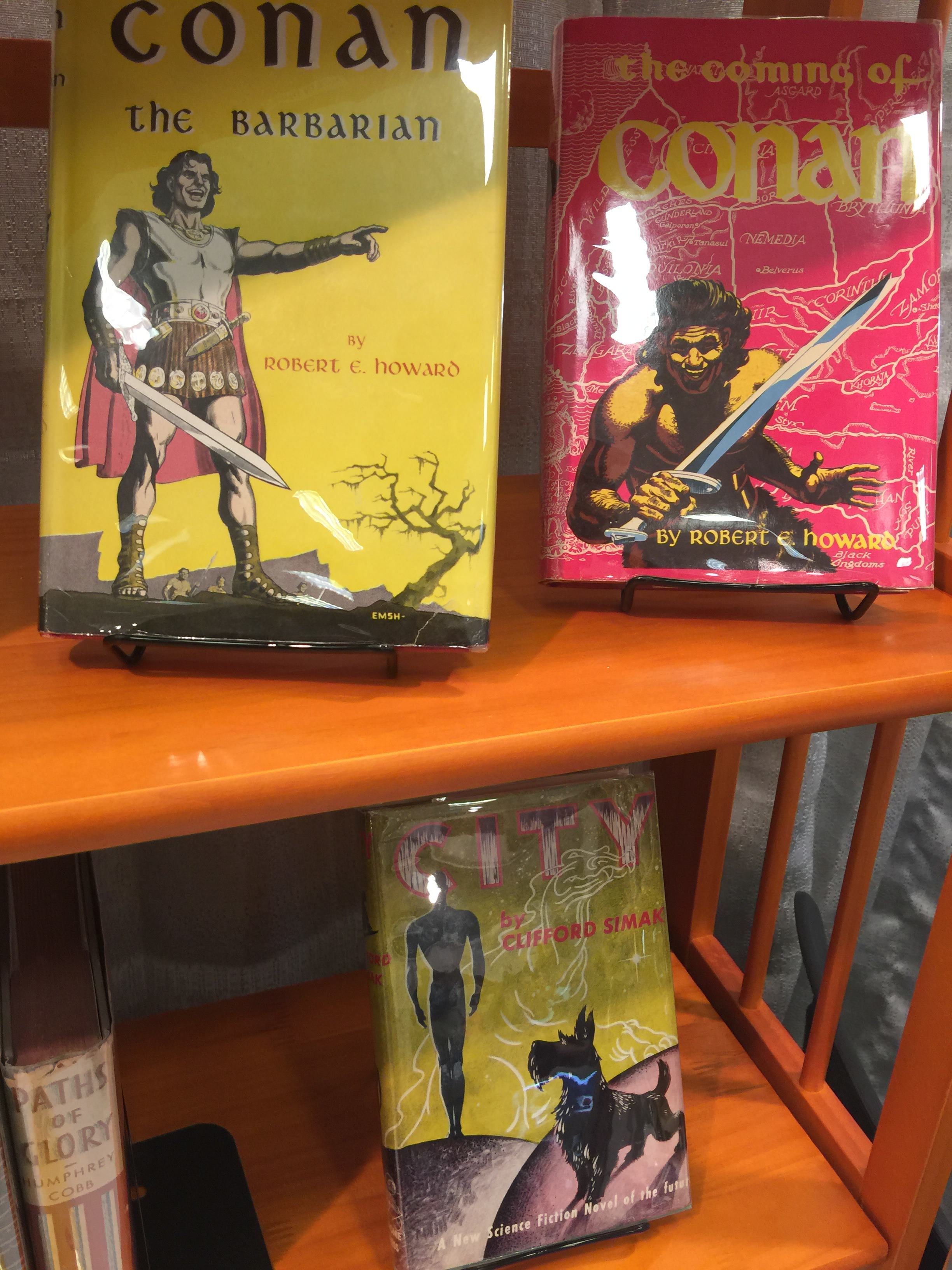 A couple of Conan the Barbarian first editions from Gnome Press